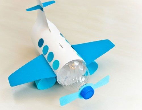 آموزش ساخت هواپیما با بطری نوشابه جالب