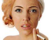 تاثیر سیگار کشیدن در پیری پوست صورت