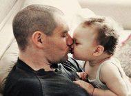 بوسیدن بچه ها می تواند مضر باشد