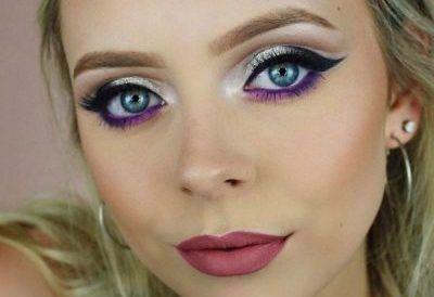 مدل های آرایش جذاب صورت از Haley Wight