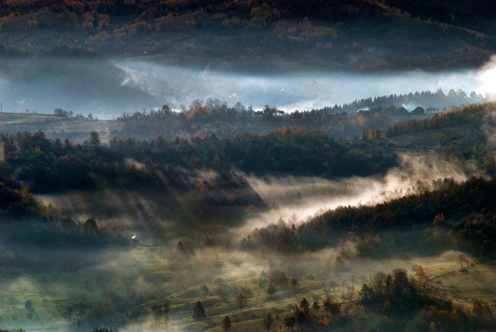 عکس های پاییزی طبیعت کشور رومانی