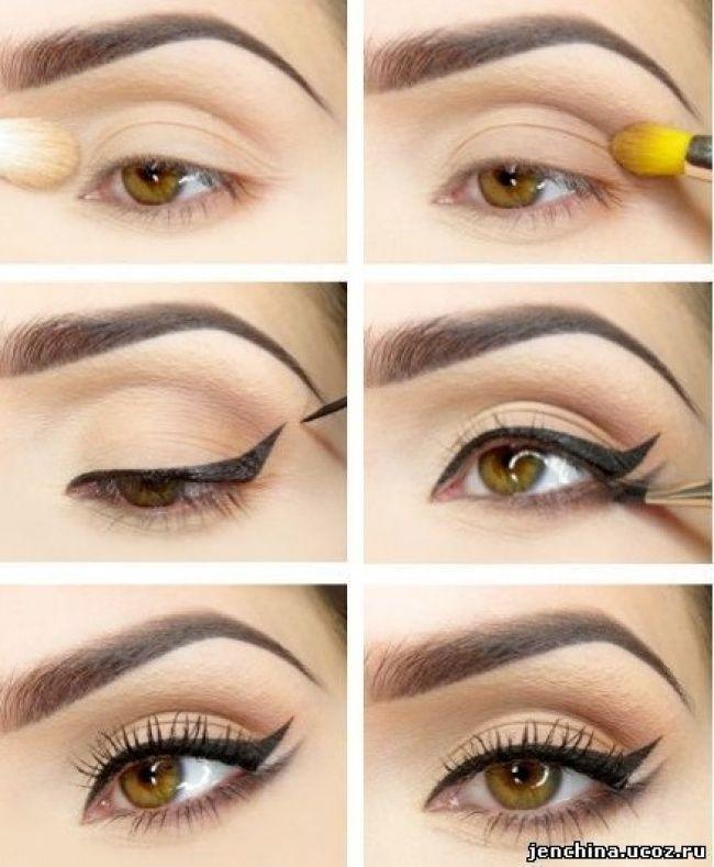 آموزش تصویری کشیدن خط چشم حرفه ای طبق مد روز
