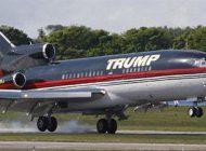 هواپیمای سوپر لوکس ترامپ با طلاکاری