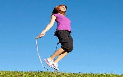 تناسب اندام راحت با طناب زدن