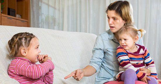 مناسب ترین روش ها برای تنبیه کودکان