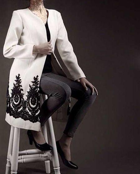 بهترین مدل های مانتو به رنگ سیاه و سفید