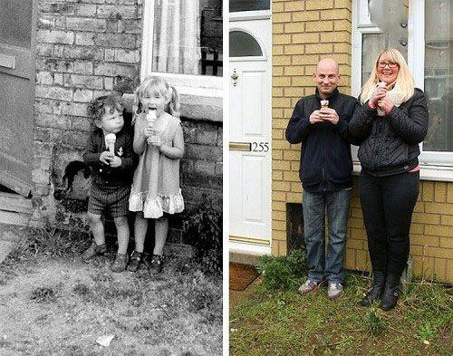 عکس های دیدنی خلاقانه عکاس خیابانی را ببینید