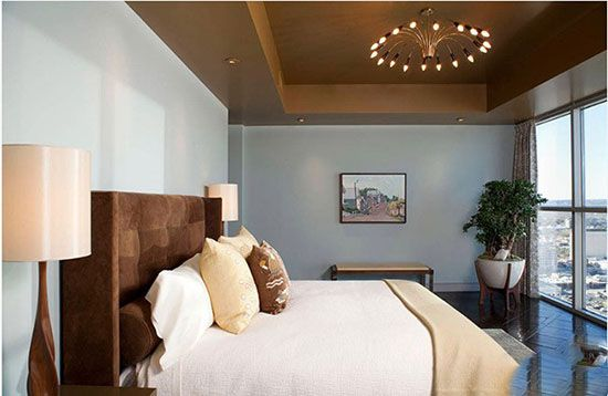 نورپردازی رویایی برای اتاق خواب