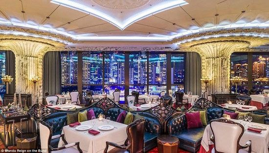 نخستین هتل هفت ستاره بی نظیر در شانگهای