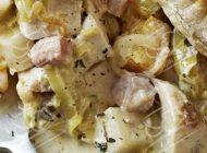 آموزش درست کردن پای مرغ به همراه سبزیجات
