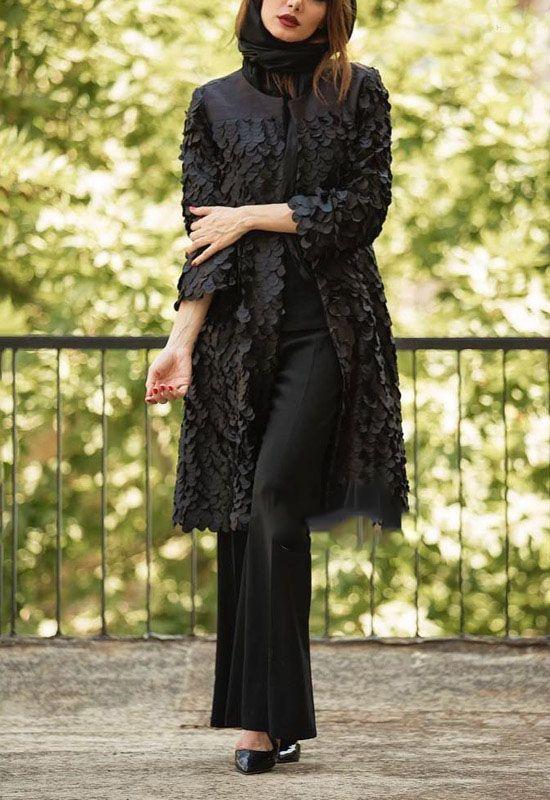 بهترین مدل های مانتو ایرانی برند Honey Design