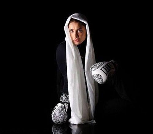 تینا آخوندتبار اولین بوکسور زن ایرانی