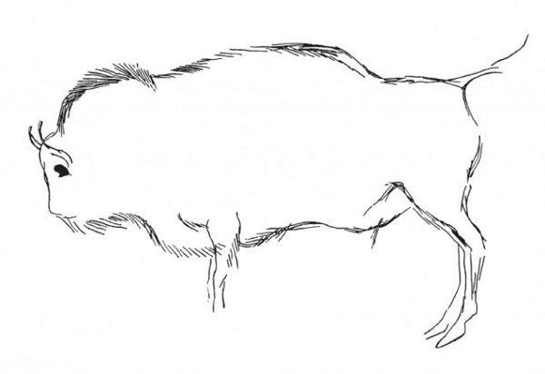 نقاشی روی دیوار غار و کشف حیوان عجیب