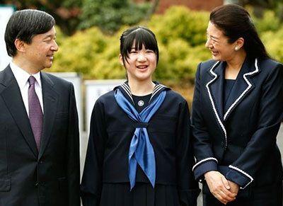 دختر خانواده سلطنتی ژاپن باید پسر می شد