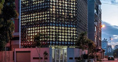 ایده جالی معماری برای کاهش آلودگی هوا