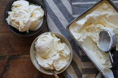 آموزش درست کردن بستنی وانیلی خوشمزه با روش جدید