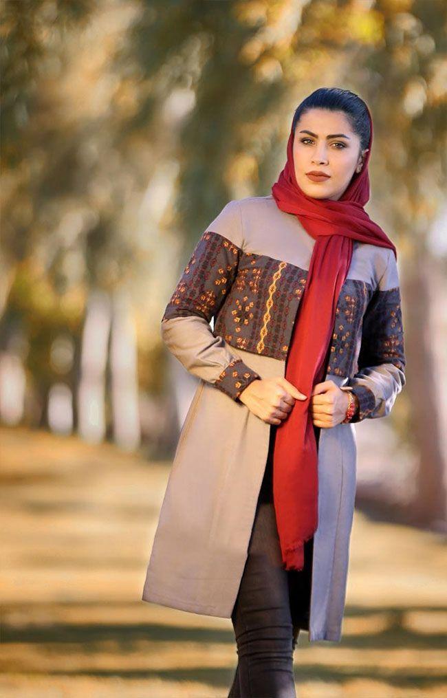 زیباترین مانتوهای سنتی ایرانی از برند ایواز