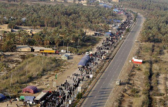 پیاده روی اربعین برای زائران امام حسین (ع)