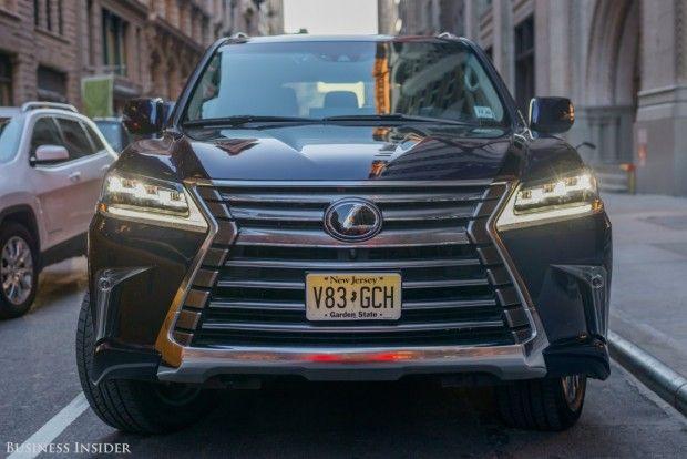 مطمئن ترین خودروهای آمریکایی لکسوس اول