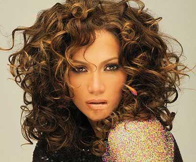 مدل موهای موج دار زیبا به سلیقه جنیفر لوپز