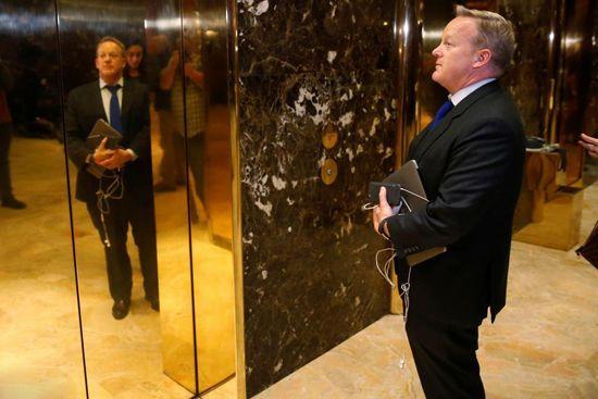 اوضاع و احوال برج ترامپ بعد از انتخابات