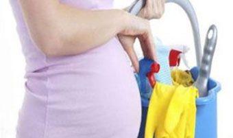 درباره خانه تکانی مادران باردار و نکات مهم