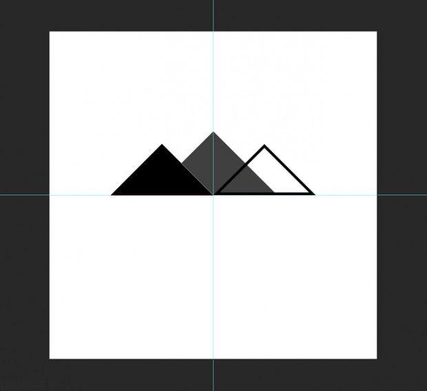 آموزش تصویری طراحی لوگو فتوشاپ