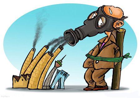 مجموعه کاریکاتور جالب و زیبا درباره آلودگی هوا