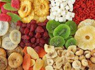 فواید استفاده انواع میوه های خشک شده