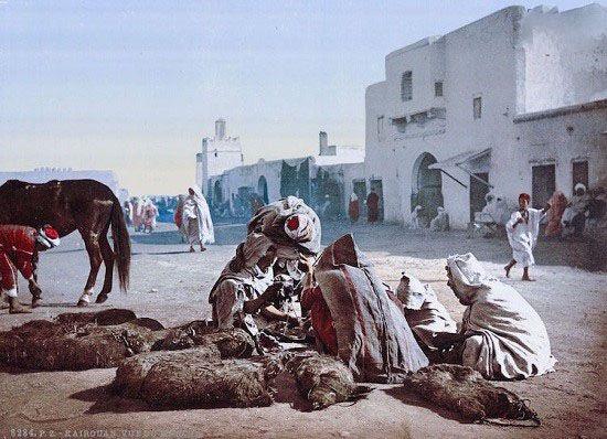 نگاهی به کشور تونس صد سال پیش