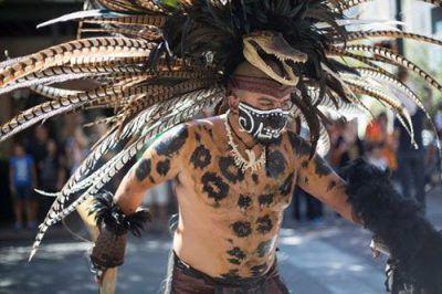 عکسهای عجیب و غریب از جشن ملی مردگان در مکزیک