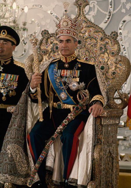عکس های مراسم تاج گذاری محمدرضا شاه