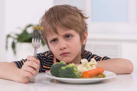 راهکار برای رفع بدغذایی کودکان