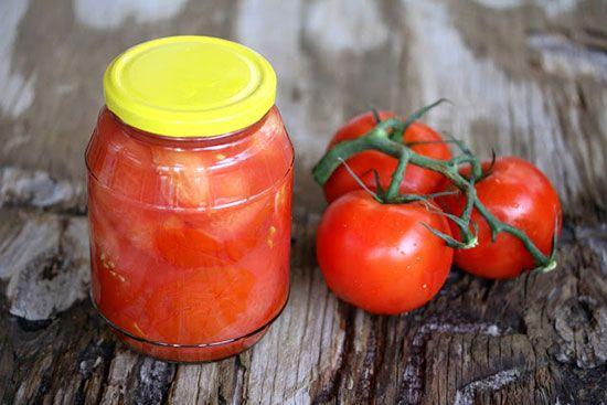 آموزش تهیه کنسرو گوجه فرنگی آسان