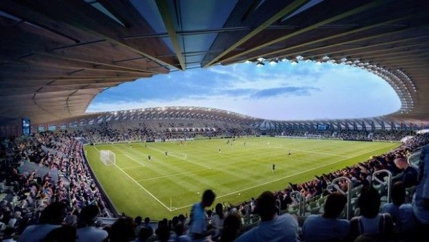 استادیوم تمام چوب در کشور انگلیس