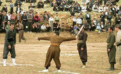 معرفی بازی های محلی مردم کرمانشاه