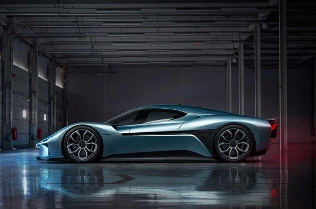 NIO EP9 پرسرعت ترین خودروی الکتریکی دنیا