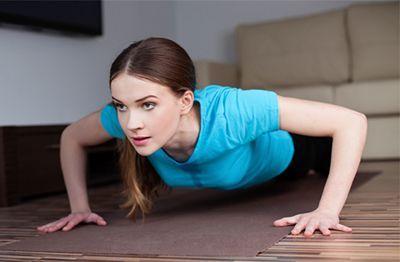 تمرینات خانگی برای لاغری و تناسب اندام