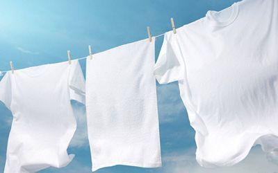 توصیه های جالب درباره شستن لباس سفید