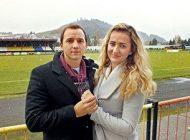 درخواست ازدواج از داور هنگام بازی فوتبال +عکس