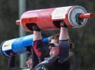 صحنه های جالب مسابقات قوی ترین زنان جهان