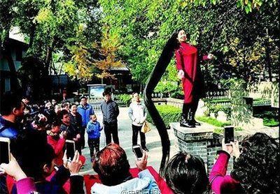 بلندترین موی جهان برای این زن چینی