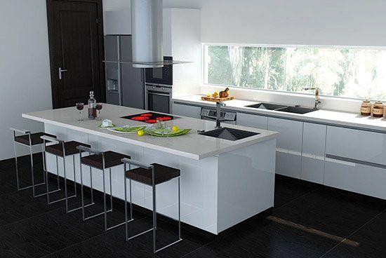 رنگ سیاه و سفید در طراحی داخلی خانه