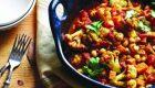 مخلوط ادویه هندی و سبزیحات خوشمزه
