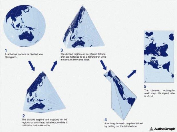دقیق ترین نقشه جهان را ژاپنی ها ساختند