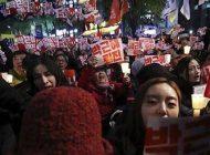 زنی کره ای که در مرکز رسوایی سیاسی است