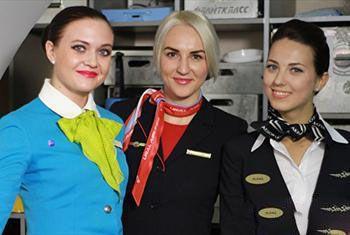 مسابقات زیباترین زن مهماندار در کشور روسیه
