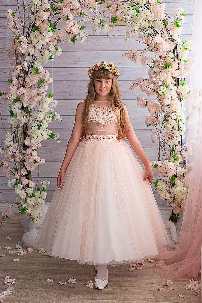 لباس مجلسی بچه گانه دخترانه Valentina Gladun