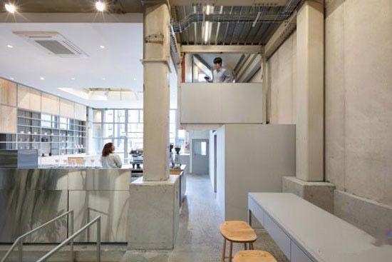طراحی داخلی و دکوراسیون کافه بی نظیر