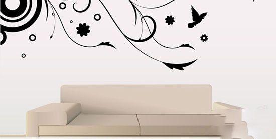 بهترین مدل های استیکر دیواری برای منازل